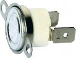Termostat H-250/10A bimetalový 250°C, NC-rozepínací vratný