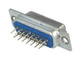 Konektor CANON 15pin zásuvka 2-řadá DS15ZP přímá do DPS