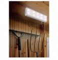 Osvětlení LED - Svítidlo LED - solární panel 2W s 10LED, studená bílá, s regulací, 6V akumulátor, lze zapnout či vypnout tahovým vypínačem