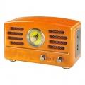 Retro rádio Hyundai - stolní,USB,SD/MMC, AM/FM dub dřevo