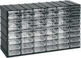 Závěsná skříňka stohovací 382x230x148mm 48 krabiček