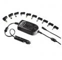 Zdroj měnič pro notebook 12V/15-24V 120W+USB 5V