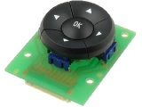 KLÁVESNICE 5-NAVIGACE, 5 tlačítková kovová klávesnice