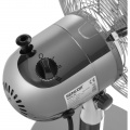 Kovový stolní ventilátor SENCOR SFE 2540SL průměr 25 cm, otočný, větrák, ventilace, velmi tichý a spolehlivý chod, stříbrná