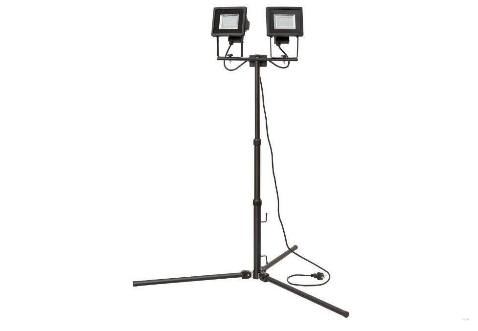 LED stavební reflektor Brennenstuhl Stativ-LED-Leuchte 1179280420, 12 W, černá, montážní