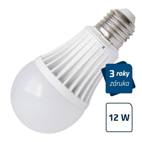 LED žárovka Geti A60, E27/230V, 12W - bílá přírodní, neutrální (dennní) 4000-4500K, odpovídá tradiční 75W žárovce