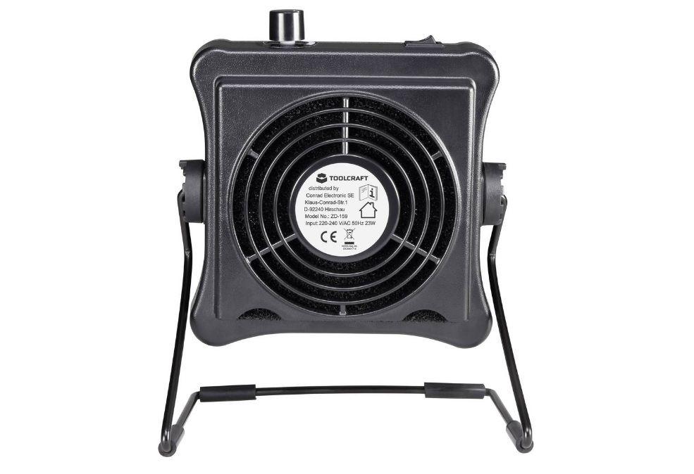 Odsávač kouře ventilátor ZD-159, 23 W, 230 V/AC, odsávač pájecích zplodin, Filtr s aktivním uhlím