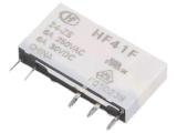RELÉ HF41F/024-ZS, 1x přep.kontakt 24V DC