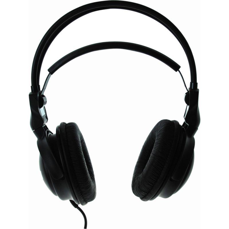 Sluchátka HOME STUDIO HEADPHONES MAXELL 303005, otevřená přes hlavu, délka kabelu 5m, Konektor JAC, K 3,5 mm Redukce 6,35 mm, k televizi, TV