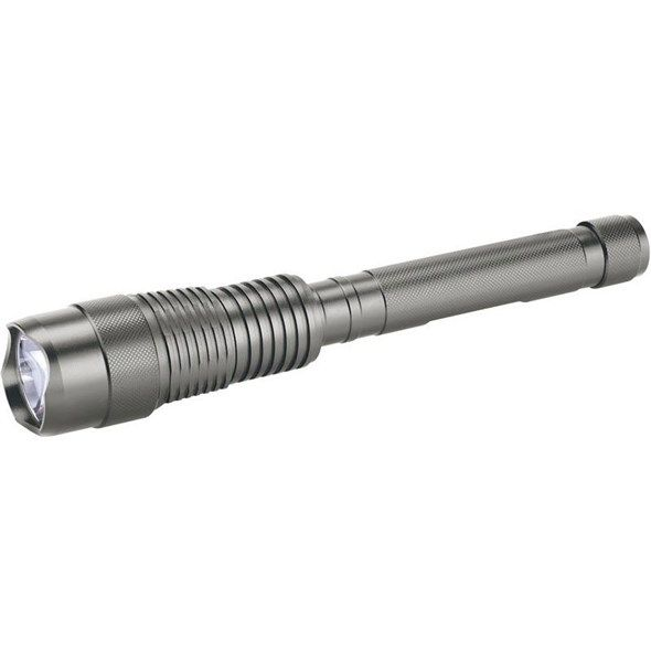 Svítilna nabíjecí ruční LED 800lm CREE čip T6, nabíjecí, EXTOL LIGHT, akumulátor 4000 mAh, kovová hliníková, konektor micro USB, USB nabíjení, Apple Lightning a 30-pin konektor