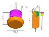 Bezdotykový Spínač ISM-230V 230V AC bezdotykový pro LED - mávnutím I, IR senzor , vestavění do nábytku, kuchyňské linky apod.