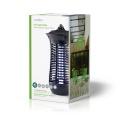 Elektrický lapač hmyzu INKI110CBK18,18W trubice UV-A, Světelná Nástraha Na Hubení Komárů