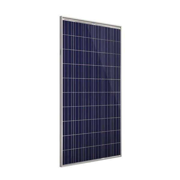 Fotovoltaický solární panel polykrystalický Amerisolar AS-6P30-280W, 60 článků, napětí 31,5V, proud 8,89A,
