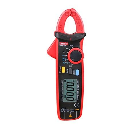 Klešťový multimetr UNI-T UT210D AC i DC proud, napětí, kmitočet, odpor, teplotu