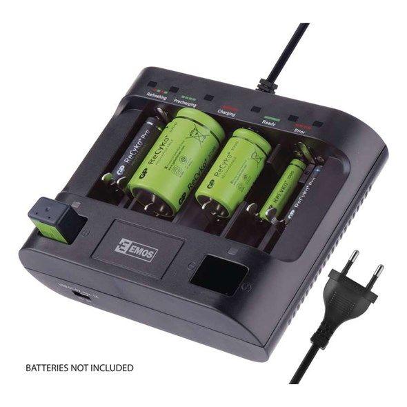 Nabíječka baterií UNI6 - inteligentní