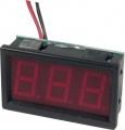Panelové LED měřidlo  0,1-99,9Vss