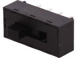 Přepínač posuvný 3pol/8pinů C&K L203011MS02Q