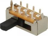 Přepínač posuvný 3pol/8pinů CANAL ELECTRONIC SL13-213C