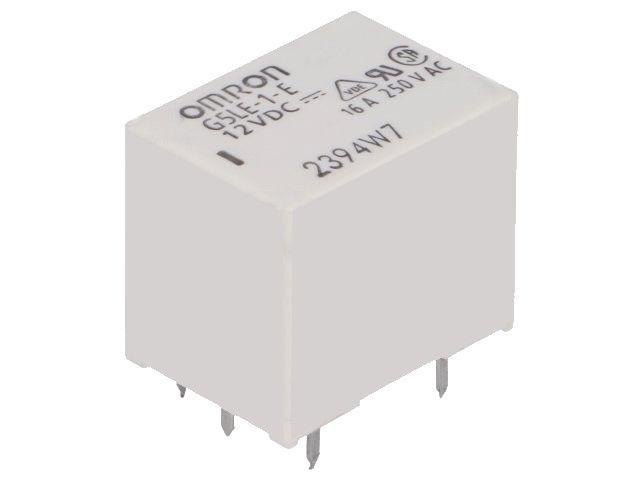 Relé elektromagnetické 12V/16A HF152FD/12-1Z, 1x přepínací kontakt 16A, 12VDC HONGFA RELAY