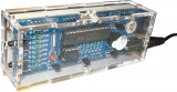 Stavebnice Digitální hodiny, řízené krystalem 32798Hz, LED displej barva-