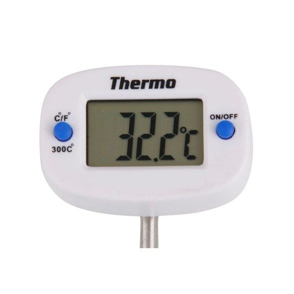 Teploměr digitální vpichovací 50-300°C s otočnou hlavou, rozlišení 0,1°C