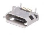 USB-B mikro konektor zásuvka na PCB
