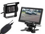 Bezdrátová couvací kamera s monitorem LCD 7