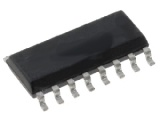 CMOS4015 Static shift register, 4bit, SMD SO16