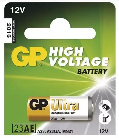 Alkalická baterie 23AE 12V GP, do dálkového ovládání apod., A23, V23GA, MN21