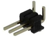 ASL003G-SMD-1.27mm 1-řadá přímá jumperová lišta 3 pin