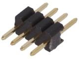 ASL004G-1.27mm 1-řadá přímá jumperová lišta 4 pin