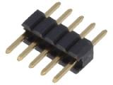 ASL005G-1.27mm 1-řadá přímá jumperová lišta 5 pin