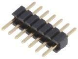ASL007G-1.27mm 1-řadá přímá jumperová lišta 7 pin