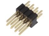 ASL008DG-1.27mm 2-řadá přímá jumperová lišta 8 pin