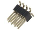 ASL008DG-SMD-1.27mm 2-řadá přímá jumperová lišta 8 pin