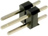 ASL004DG 2-řadá přímá jumperová lišta 4 pin