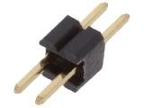 ASL002G-1.27mm 1-řadá přímá jumperová lišta 2 pin