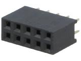 BL810DG 2-řadá zdířka jumperová lišta 10 pin