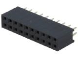 BL820DG 2-řadá zdířka jumperová lišta 20 pin