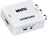 Převodník HDMI na AV - analogové kompozitní video + audio