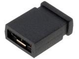 JUMPER-2.54mm černý