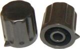 Knoflík K1404 pro hřídel @4mm černý