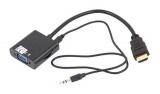 Převodník HDMI / VGA + audio