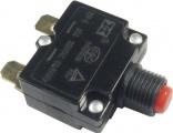 Proudový jistič 10A/250VAC do panelu