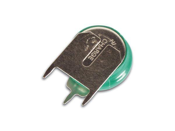 Baterie nabíjecí zálohovací V30R NiMh 1,2V/33mA s pájecími vývody do plošného spoje