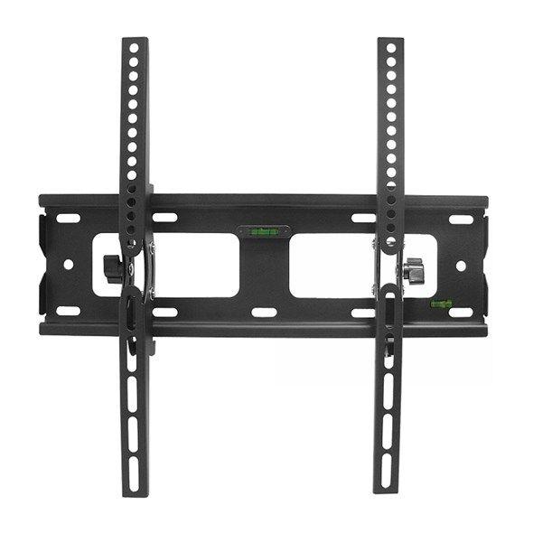 """Držák na televizor LED/LCD, Plazma LTC LXLCD38 SKLOP. LCD  23-55"""" černý, jednoduchý na stěnu s mírným naklopením"""