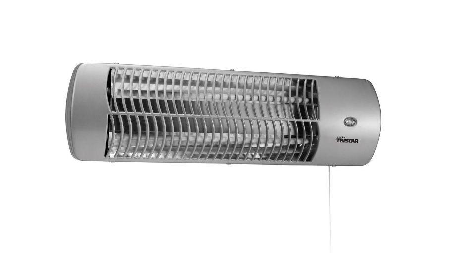 Halogenové topení - Křemenný infračervený zářič Tristar KA-5010,1200 W, Naklápěcí, Možná montáž na zeď, tichý, Topení do koupelny se 2 nastavitelnými stupni vyhřívání