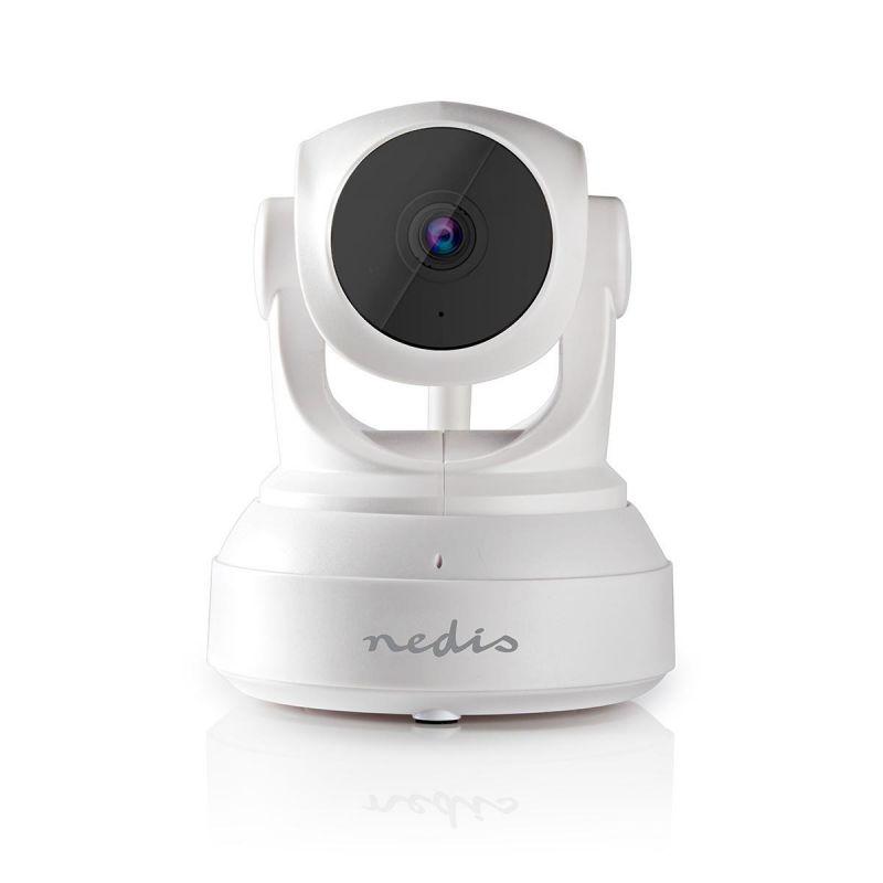 IP Bezpečnostní kamera   1280x720   Otáčení a Náklon   Bílá barva záznam na Micro SD kartu až 32GB