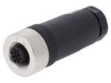 Konektor M12 4piny PB-M12D-04P-FF-SL7001-00A(H) zásuvka