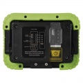 LED reflektor COB 20W, přenosný, AKU, nabíjecí přes USB, neutrální bílá, 1000 lm, 4400 mAh akumulátor, stojan přenosný montážní, IP44, POWERBANKA